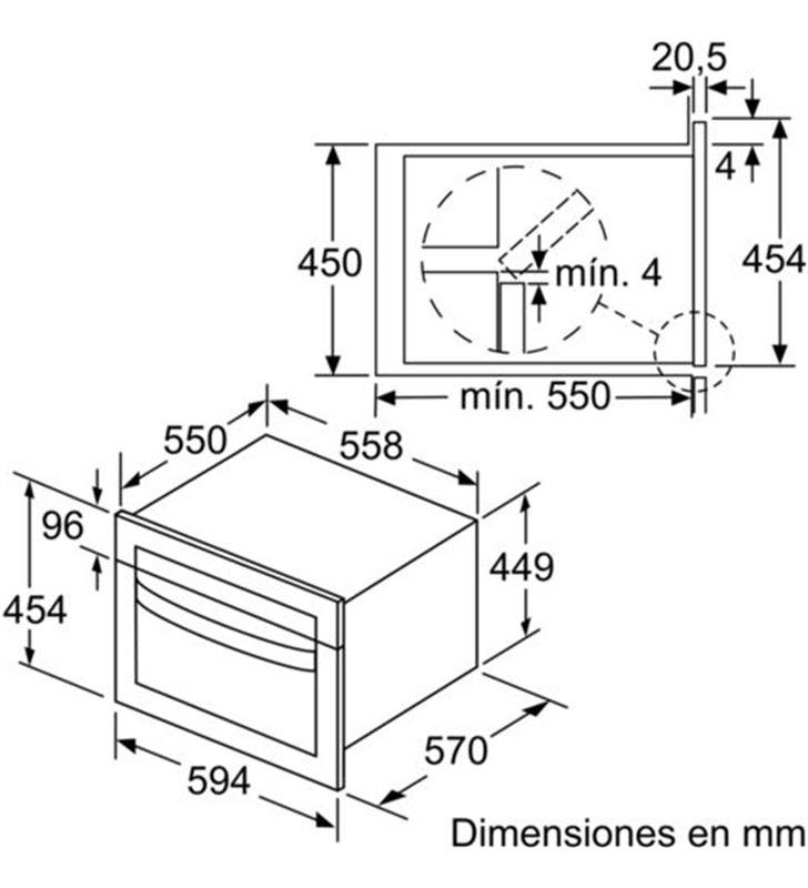 Balay 3CW5179A0 horno/micro comp. cristal gris 45cm - 78535292_6559095369