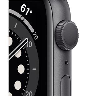 Apple watch s6 40mm gps caja aluminio gris espacial con correa negra sport MG133TY/A - MG133TYA