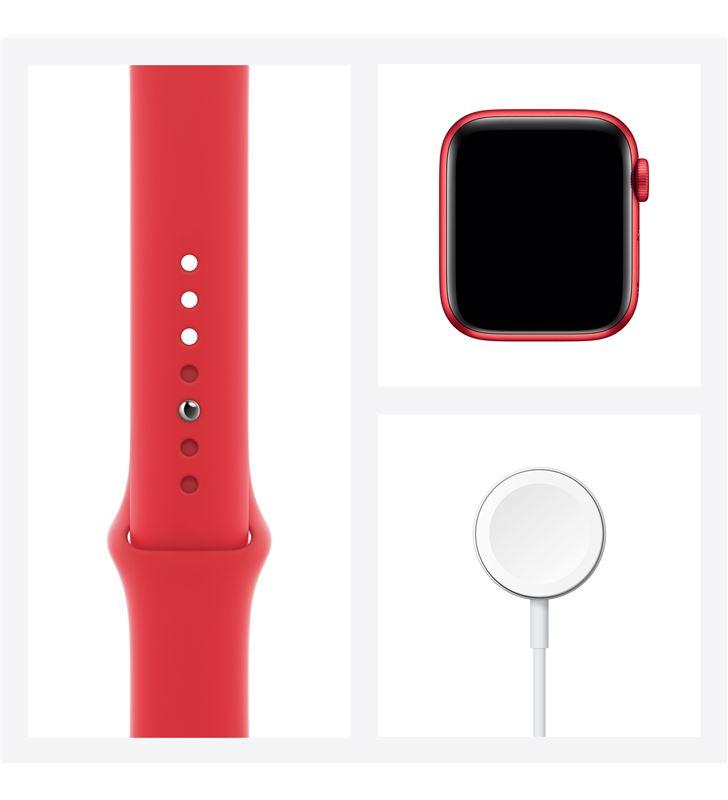 Apple watch s6 40mm gps cellular caja aluminio roja con correa roja sport b M06R3TY/A - 85936638_9510123358