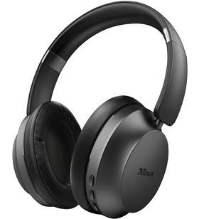 Auriculares bluetooth trust eaze - dRivers 40mm - micrófono integrado - uso 23550 - TRU-AUR 23550