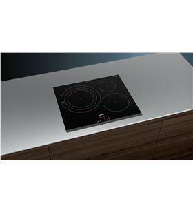 Siemens EH631BDB1E placa induccion 60cm ancho negro - EH631BDB1E