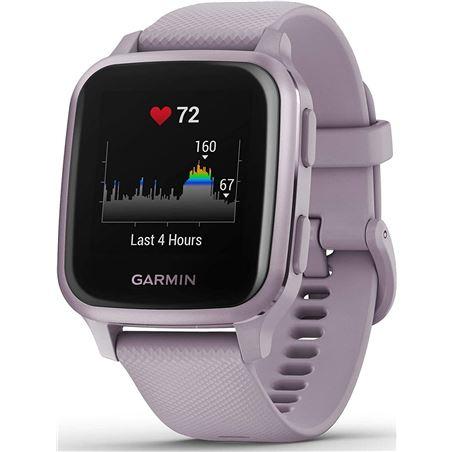 Reloj deportivo con gps Garmin VENU SQ LAVANDA / correa silicona lavanda - - VENU SQ LAVANDA