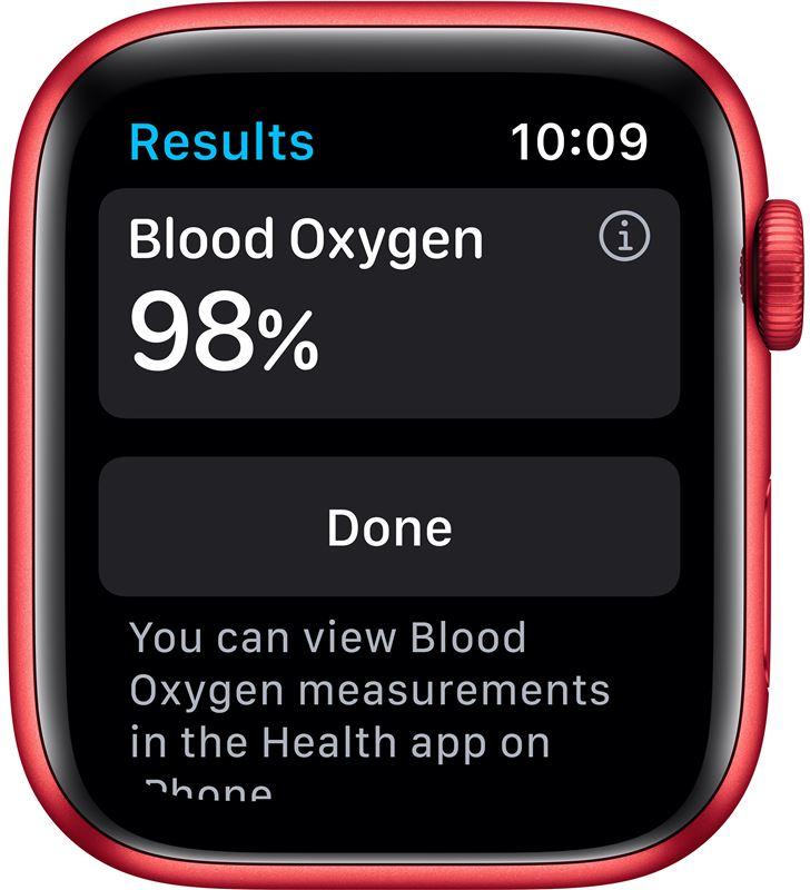Apple watch s6 44mm gps cellular caja aluminio roja con correa roja sport b M09C3TY/A - 85936641_8289383810