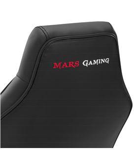 -Silla gamer Mars gaming mgcx one negra - reposabrazos acolchados curvados - MGCXONEBK - 86204041_2580018461