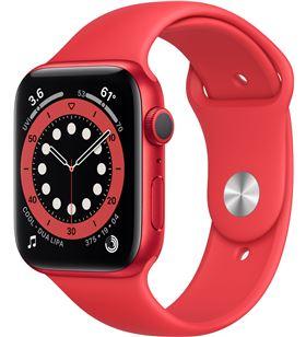 Apple watch s6 40mm gps caja aluminio roja con correa roja sport band - m00 M00A3TY/A - M00A3TYA