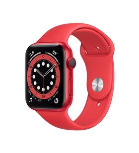 Apple watch s6 44mm gps cellular caja aluminio roja con correa roja sport b M09C3TY/A - M09C3TYA