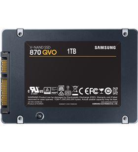 Disco sólido Samsung 870 qvo 1tb - 2.5''/6.35cm - sata iii - lectura 560mb/s MZ-77Q1T0BW - SAM-SSD MZ-77Q1T0BW