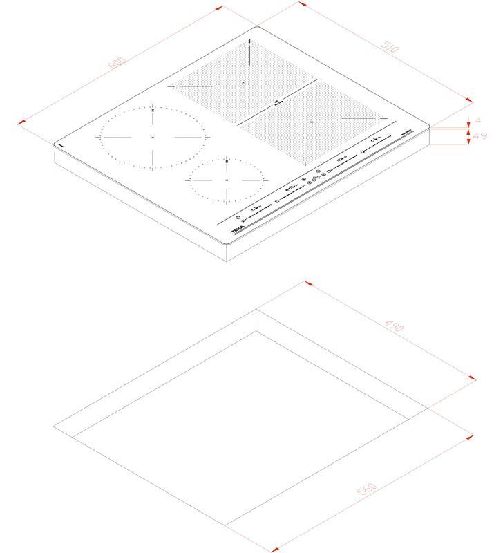 Flex-inducción Teka izf 64440 bk msp 5z 112510019 Vitroceramicas induccion - 80579429_7592177320