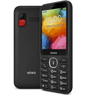 Teléfono móvil Wiko f200 black - display 2.8''/7.11cm - dual sim - cámara vg F200BLACK - WIK-TEL F200BLACK