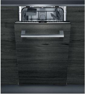 Lavavajillas integrable ( no incluye panel puerta ) negro/acero a++ Siemens sr63ex28ke 10s 45cm SIESR63EX28KE - SIESR63EX28KE