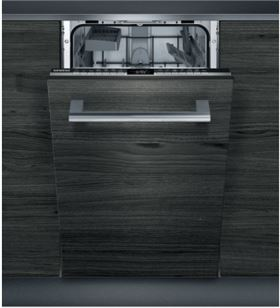 Siemens SR63EX28KE lavavajillas integrable ( no incluye panel puerta ) negro/acero a++ 10s 45cm - SIESR63EX28KE