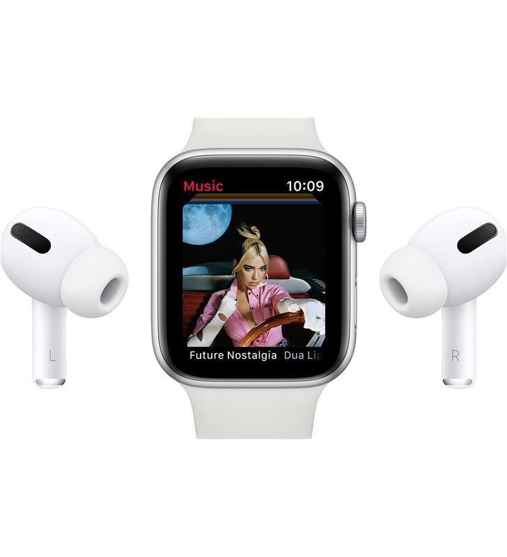 Apple watch se 44mm gps cellular caja aluminio con correa blanca sport band MYEV2TY/A - 85937451_6015664627