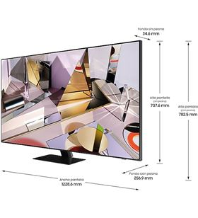 Televisor qled Samsung QE55Q700T - 55''/139cm - 7680*4300 8k - 3700 pqi - hd - SAM-TV QE55Q700T