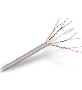 Bobina de cable Aisens A135-0273 - cat6 - utp rígido - awg24 - 305m - gris - AIS-CAB A135-0273