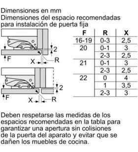 Combi integ. a++ Siemens ki86safe0 (1770x560x550) SIEKI86SAFE0 - SIEKI86SAFE0