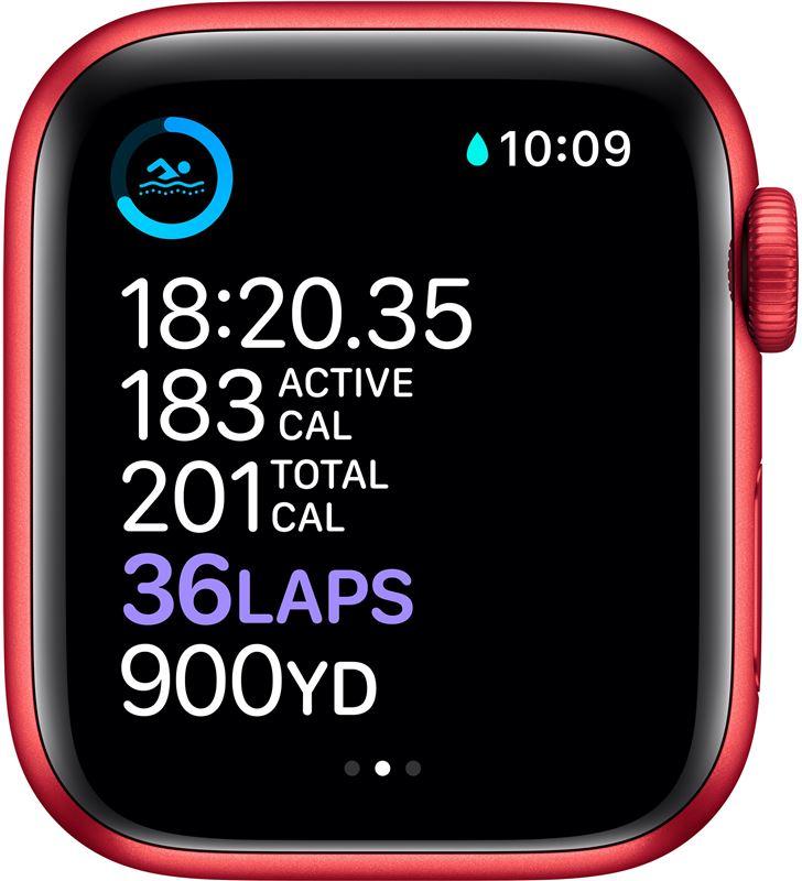 Apple watch s6 40mm gps cellular caja aluminio roja con correa roja sport b M06R3TY/A - 85936638_2291182181
