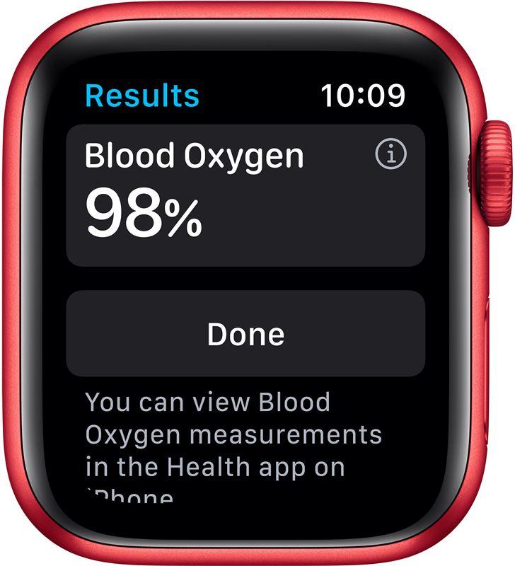 Apple watch s6 40mm gps cellular caja aluminio roja con correa roja sport b M06R3TY/A - 85936638_5556008823