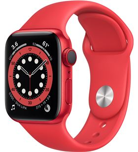 Apple watch s6 40mm gps cellular caja aluminio roja con correa roja sport b M06R3TY/A - M06R3TYA