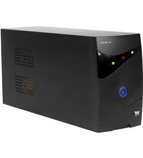 Sai línea interactiva Woxter ups 650 va - 650va/360w - 2*schuko - display l PE26-062 - WOX-SAI PE26-062
