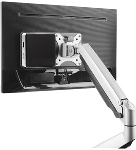 Aisens MPC01-055 soporte vesa para mini pc / nuc / barebone negro - compati - MPC01-055