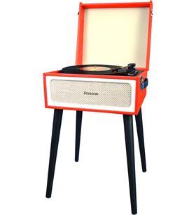 Tocadiscos mueble Lauson YT078 rojo Tocadiscos - YT078