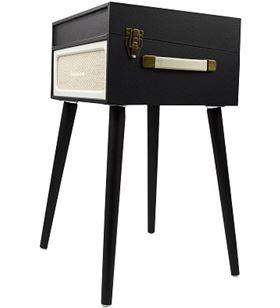Tocadiscos mueble Lauson YT077 negro Tocadiscos - YT077