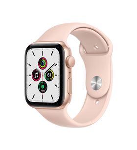 Apple watch se 44mm gps caja aluminio oro con correa rosa arena sport band MYDR2TY/A - MYDR2TYA