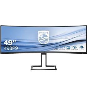 Monitor multimedia ultrawide curvo Philips 498p9 - 48.8''/124cm - 5120*1440 498P9/00 - PHIL-M 498P9