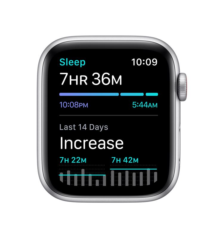 Apple watch se 44mm gps cellular caja aluminio con correa blanca sport band MYEV2TY/A - 85937451_4346314833