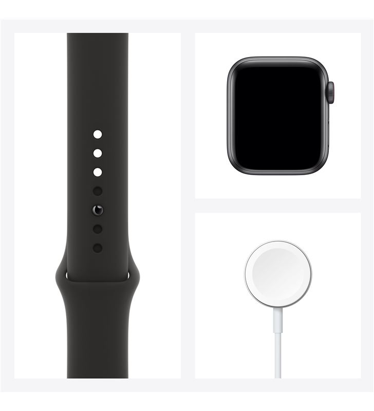 Apple MYEK2TY/A watch se 40mm gps cellular caja aluminio gris espacial con correa neg - 85937371_0764441982