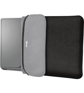 Pack Trust yvo negro 23449 - funda reversible de portatil 15.6'' + raton ina - TRU-PACK 23449