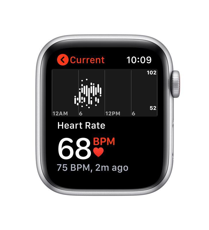 Apple watch se 44mm gps cellular caja aluminio con correa blanca sport band MYEV2TY/A - 85937451_6102047806