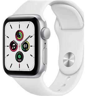 Apple watch se 40mm gps caja aluminio con correa blanca sport band - mydm2t MYDM2TY/A - MYDM2TYA