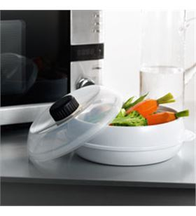 Electrolux set de cocción al vapor para microondas. prepare comidas sanas en unos minu e4mwste1 - E4MWSTE1