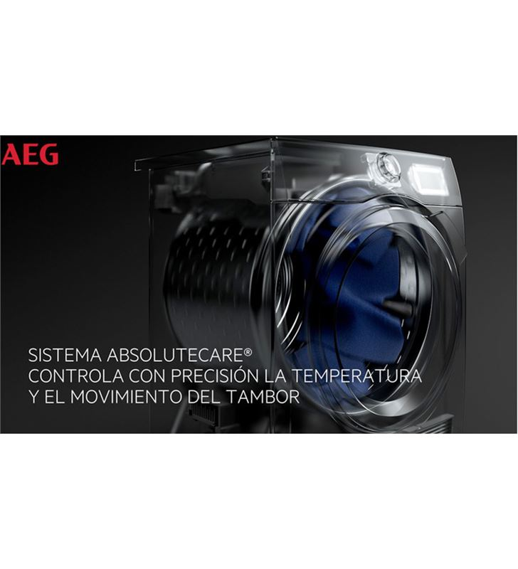 Aeg T9DEC866 sec. carga frontal 8kg inox a+++ bomba calor - 86548442_8327835421