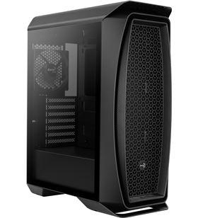 Caja semitorre Aerocool aero one black - 2*usb 3.0 - audio/microfono hd - a AEROONEBK - AER-CAJA AEROONEBK