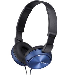 Auriculares Sony MDRZX310APL/ con micrófono/ jack 3.5/ azules - SONY-AUR MDRZX310APL