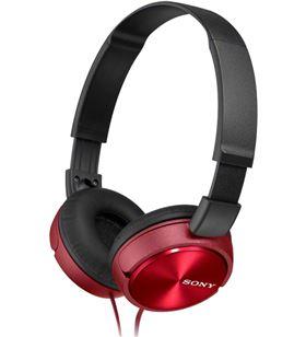 Auriculares Sony MDRZX310APR/ con micrófono/ jack 3.5/ rojos - SONY-AUR MDRZX310APR