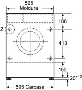 Lav/sec carga frontal 7/4kg integrable Balay 3tw773b (1200rpm) BAL3TW773B - BAL3TW773B