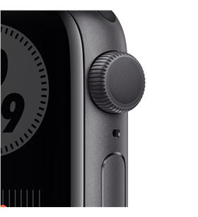 Apple watch s6 40mm gps nike caja aluminio gris espacial con correa antraci M00X3TY/A - M00X3TYA