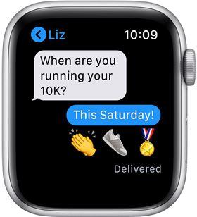 Apple watch se 44mm gps nike caja aluminio con correa antracita y negro nik MYYH2TY/A - 85937394_1187344958