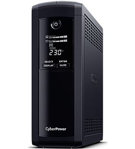 Sai línea interactiva Cyberpower VP1600ELCD/ 1600va-960w/ 5 salidas/ format - CYB-LI VP1600ELCD