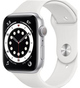 Apple watch s6 44mm gps caja aluminio con correa blanca sport band - m00d3t M00D3TY/A - M00D3TYA