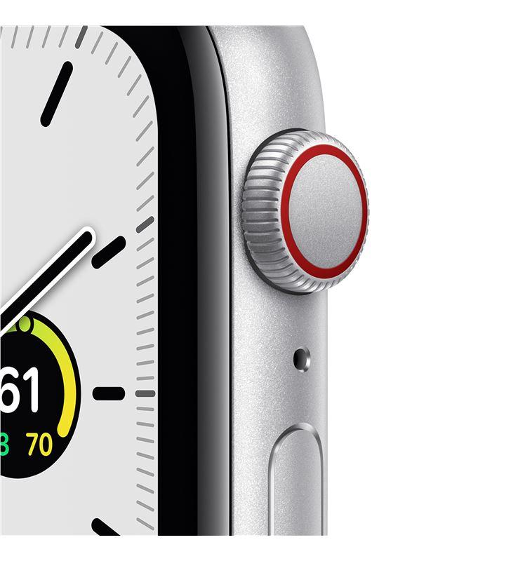 Apple watch se 44mm gps cellular caja aluminio con correa blanca sport band MYEV2TY/A - 85937451_4521182872