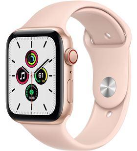 Apple MYEX2TY/A watch se 44mm gps cellular caja aluminio oro con correa rosa arena sp - MYEX2TYA