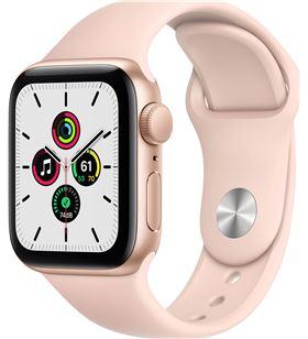 Apple watch se 40mm gps caja oro con correa rosa arena sport band - mydn2ty MYDN2TY/A - MYDN2TYA