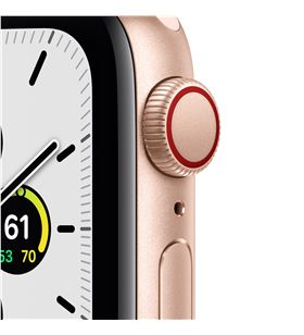 Apple watch se 40mm gps cellular caja oro con correa rosa arena sport band MYEH2TY/A - MYEH2TYA
