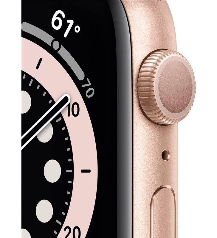 Apple watch s6 40mm gps caja aluminio oro con correa rosa arena sport band MG123TY/A - 85936658_9131924762