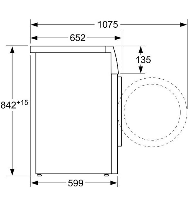 Secadora bomba de calor carga frontal Bosch WTR85V91ES 8kg a++b.calor - 86231805_6374089864