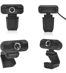 Webcam Innjoo cam01 - resolución vídeo 1920*1080 fhd 30fps - enfoque fijo - IJ-CAM01 - INN-WEBCAM CAM01